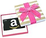 Amazon.de Geschenkgutschein in Geschenkbox - 50 EUR (Valentinstag)
