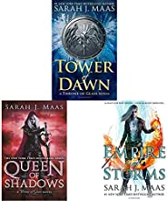 Tower of Dawn (Throne of Glass)+Queen of Shadows (Throne of Glass)+Empire of Storms (Throne of Glass) (Set of