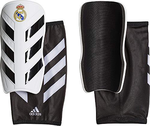 adidas Real Madrid Pro Lite Schienbeinschoner Herren, Cwhite/Black, M -