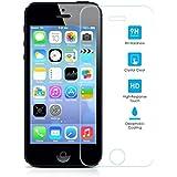 Protector de Pantalla para Iphone 5/5S/5C/SE Cristal Vidrio Templado Premium, Electrónica Rey®