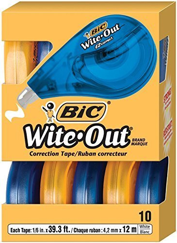 bic-wite-out-brand-ez-correct-correction-tape-10-count-by-united-stationers-supply-co