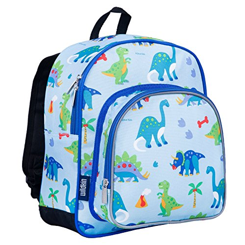(Wildkin Land Rucksack für Kinder, Dinosaurier, Bunt, Farbe)