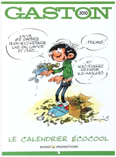 Hors Collection Calendrier Gaston Lagaffe 2010