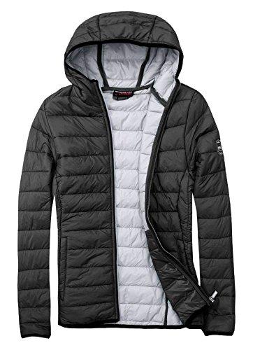 EXUMA peut également gonflé veste pour femme S, M, L ou XL Noir - noir