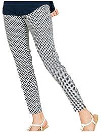 Donna Pantaloni Ragno Abbigliamento Amazon it 4qtS5nn7