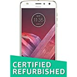 (CERTIFIED REFURBISHED) Motorola Moto Z2 Play (Fine Gold, 64 GB) (4 GB RAM)
