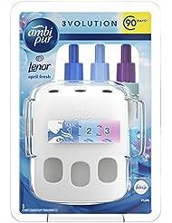 Febreze Ambi Pur 3Volution Air Freshener Plug in Starter Kit, Spring Awakening with Lenor, Three Alternating Scents to Clean Away Odours, 20 ml