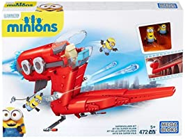 Mega Bloks CNF60 - Minions Supervillain Jet
