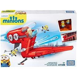 Minions Juego de construcción, avión (Mattel CNF60-9964)