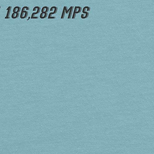 Planet Nerd - Flash Faster Than 18682 MPS - Damen T-Shirt Hellblau