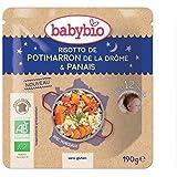 Babybio doypack risotto de potimarron sans gluten 12 mois 190g - ( Prix Unitaire ) - Envoi Rapide Et Soignée