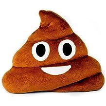 Emoji Emoticono Cojín Almohada Redonda Emoticon Peluche Bordado Sonriente