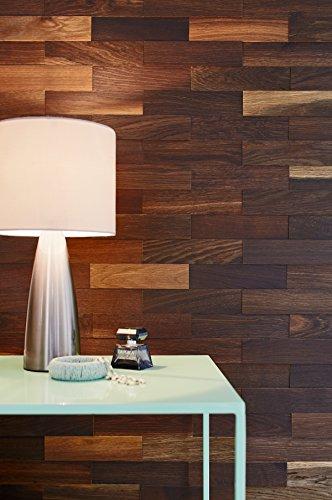 innovador y decorativo diseo de paredes en madera para salas de estar acabado natural con efecto d gracias a su principio de instalacin