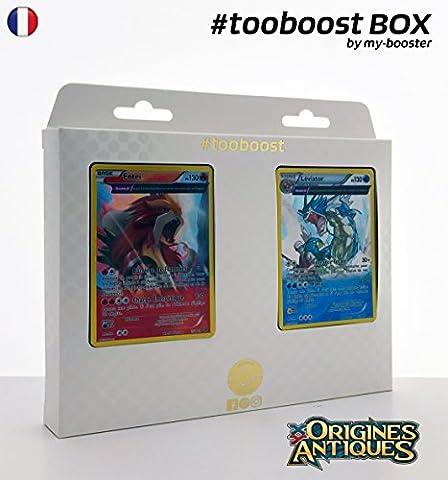 Coffret #tooboost ENTEI et LEVIATOR - XY07 - 10 cartes Pokemon francaises