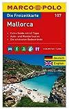 MARCO POLO Freizeitkarte Mallorca 1:120:000: Toeristische kaart + gids 1:120 000