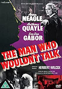 The Man Who Wouldn't Talk [DVD]