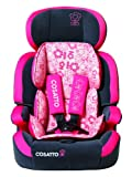 Cosatto Zoomi Group 1/2/3 Car Seat Oopsi Ditsi - Grey/Pink