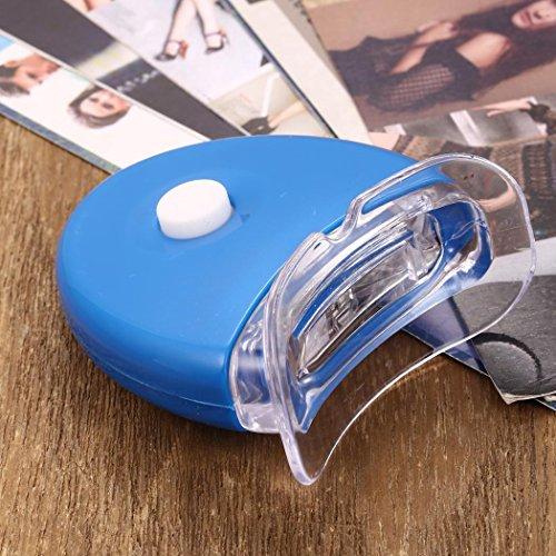 Nisels Dispositivo de blanqueamiento de diente ligero portátil LED de cuidado de la salud