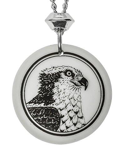 hecho-a-mano-con-forma-de-osprey-totem-redondo-colgante-de-porcelana-18-4-extensor-cadena