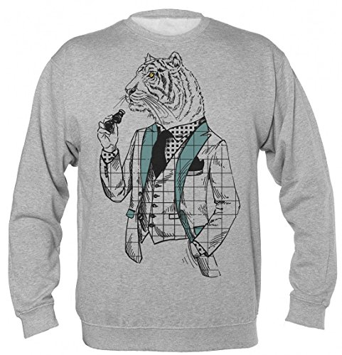uxedo And Binoculars Unisex Sweatshirt Medium ()