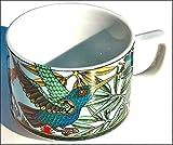 KOLIBRI hellblau BOPLA Porzellan Paradise Kaffeetasse 0,18l TASSE - Teetasse - TAZZA - CUP - TAZA 0,18 l, 1,8 dl, 6-1/4 fl. oz. platzsparend stapelbar, mircowellengeeignet, kältebeständig, ofenfest, spülmaschinenfest, gastronomiebewährtes Hartporzellan Schweizer Qualität, Dekor von namhaften Künstlern gestaltet. Begehrtes Sammlerporzellan. Alles individuell und einzeln kombinierbar und es passt immer in allen Farben zusammen