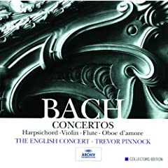 J.S. Bach: Concertos for solo instruments (5 CDs)