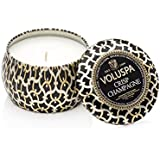 voluspa nettes Champagne décoratif Petite bougie Boîte métal