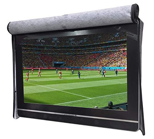 30' Einstellen (WGE Schwerlast-600D Außenabdeckung TV, Kratzfeste TV-Bildschirm, kompatibel mit Standard-Basis und Halterung,30''~32'')