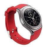 Vanctec pour Gear S2classique Watch Band ¨ C 20mm Samsung R732Bandes Bracelet Bracelet de rechange Sport Sangle pour Gear S2Classic Smart Watch (Sm-r732/R7320/R735), ne convient pas pour Gear S2(Sm-r720& R730)
