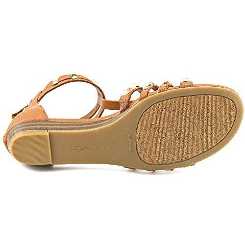 BCBGeneration Anaka-X Damen Kunstleder Gladiator Sandale Luggage