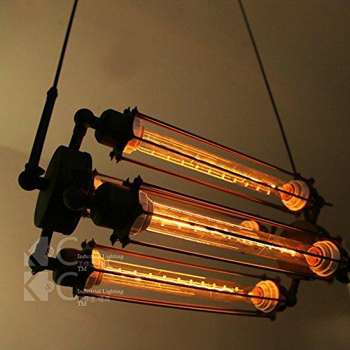 BESPD American Country Stil erinnert an Loft industrielle Kreativität Flöte Wandleuchten Wohnzimmer Flur Flur Treppe Studie Schlafzimmer mit 4 Bett D 1826-4 UHR Flöte Glühlampe -
