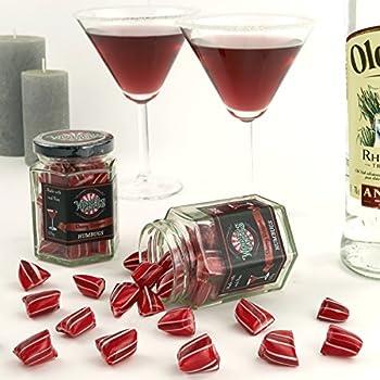Wendy's Candies - Bonbon Humbugs - Cocktail CHERRY DAIQUIRI - Confiserie de fabrication artisanale - berlingot revisité - idée cadeau - Bonbons à Offrir - ref SCD