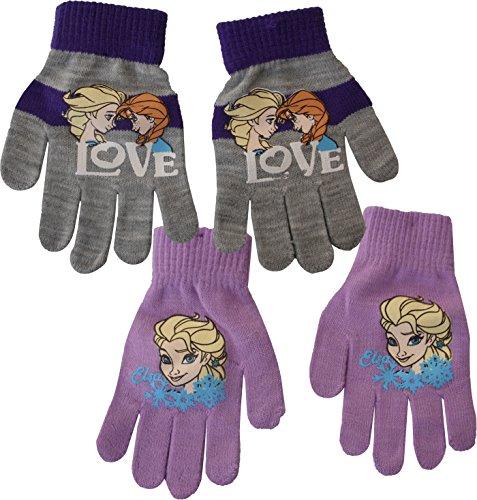 Disney Frozen Anna Elsa Hand Handschuhe (lila)