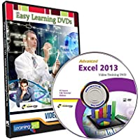 Easy Learning Advanced Microsoft Excel 2013 Tutorial Video (DVD)