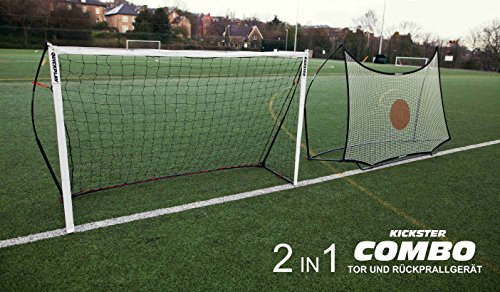 QUICKPLAY Kickster Combo 2,4 x 1,5m Fußballtor & Rebounder - 9