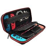 Reiseetui Tasche für Nintendo Switch, Tragen Hülle Harte Reise Case Nylon Schutzhülle für Nintendo Switch Zubehör von Mountain Forged