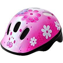 Casco Infantil Niña Color ROSA Bicicleta Ciclismo Antimosquitos Homologado 3937M