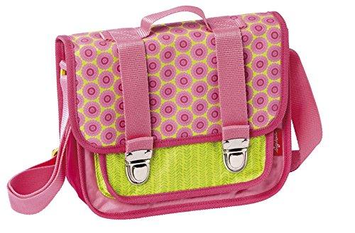 sigikid, Mädchen, Kinder Umhängetasche, Kindergartentasche, Blumenfee, Florentine, Pink/Grün, 24451 Schultertasche / Florentine
