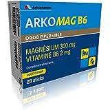 Arkopharma Arkomag B6 Vitamines/Minéraux Orodispersible Boîte de 20 Sticks