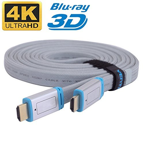 Generic HDMI Cable V2.0 3D 1080P 4K @ 60Hz - HDTV LCD LED XBOX PS4 BLURAY by Generic -