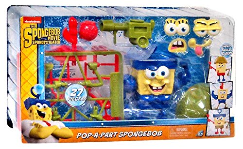 Spongebob Squarepants The Spongebob Movie Sponge Out Of Water Pop-A-Part Spongebob Action Figure by Just Play
