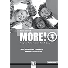 MORE! 4 Teacher's Book General course