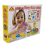 Leo & Emma Knete großes Spielset mit Spielknete Kreativ-Set - Modell 2019 (Multi-Activity Food Center)