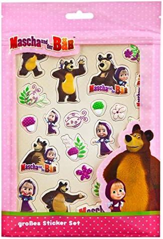 Undercover Sac pour Enfant, Macha Macha Macha et l'ours B01N9QMOOP | Jolie Et Colorée  0803cc