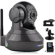 Vstarcam C7837WIP 720P HD IP Cámara H.264 Webcam WiFi Inalámbrico PnP P2P AP Pan Tilt IR-Cut Visión Nocturna Detección de Movimiento (Incluido 32G Tarjeta de Memoria Dedicada + Un Soporte Adicional)