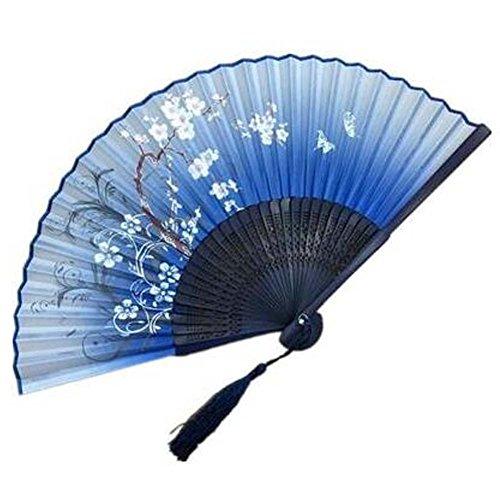 Theater Kostüm Im Spanischen - Handfaltender Ventilator Handfächer Faltender Fan Aya Seide Chinesisch / Japanische Seide