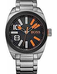 BOSS Orange Herren-Armbanduhr XL London  XXL Analog Quarz Edelstahl 1513114