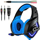 Best Gaming Headset Xbox 360s - Gaming Headset,ONIKUMA 3.5mm Stereo K1 Ear Headphone Review