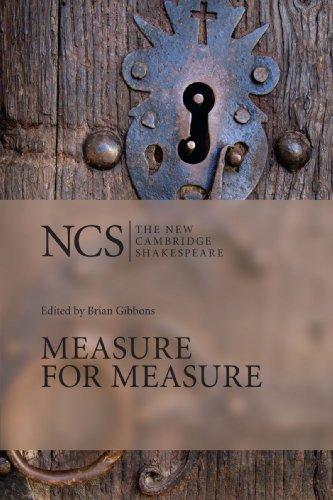 Price comparison product image Measure for Measure (The New Cambridge Shakespeare)