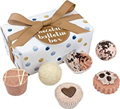 Idea Regalo - Bomb Cosmetics cioccolato Ballotin assortimento di Bath Gift Set